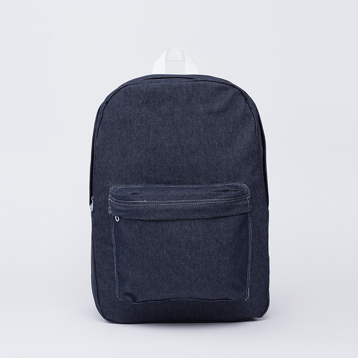 NLS dark denim backpack