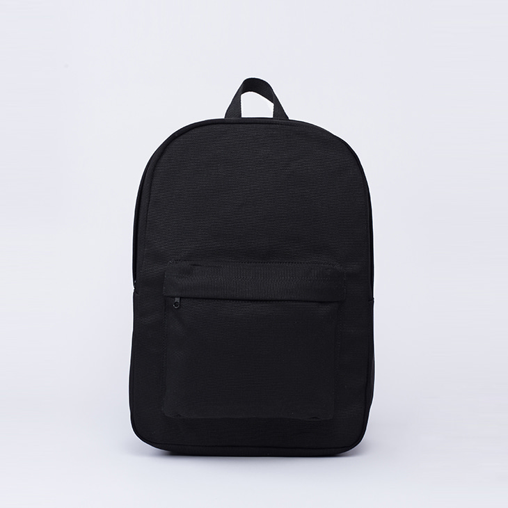 NLS canvas backpack [Black]