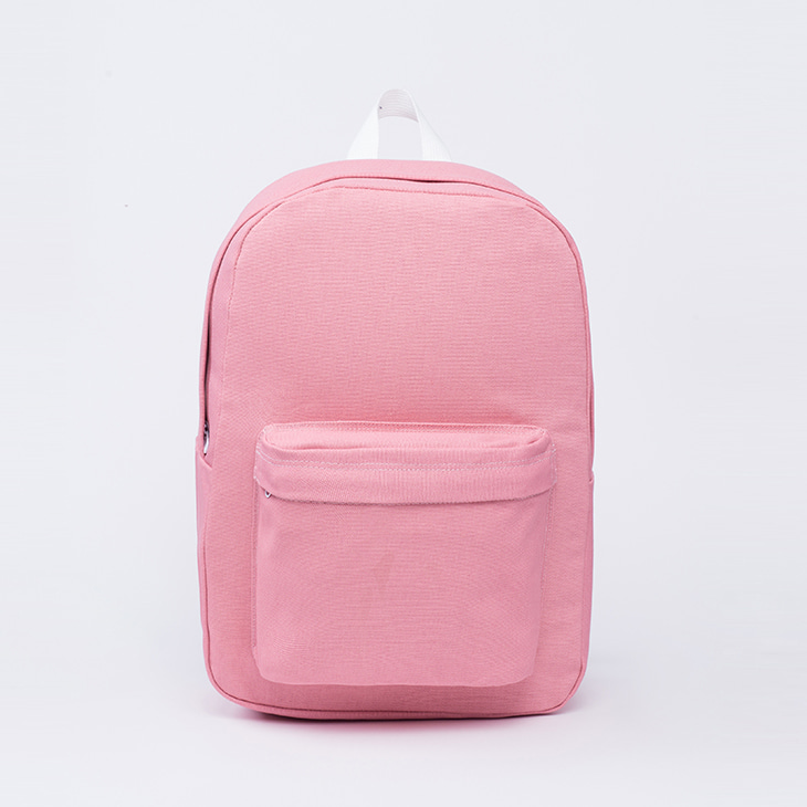 NLS canvas backpack [pink]