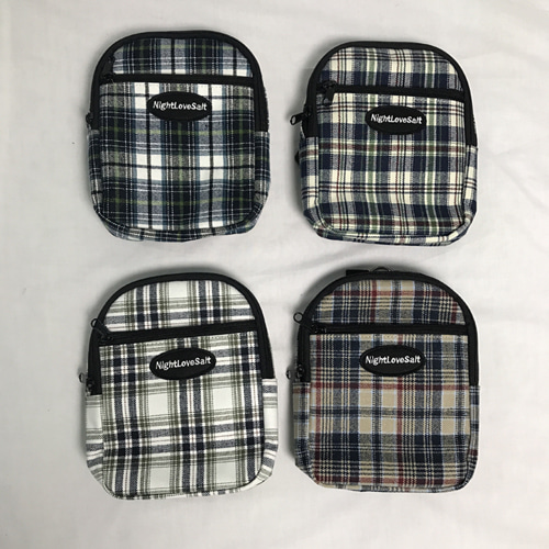NLS cozy check dog backpack