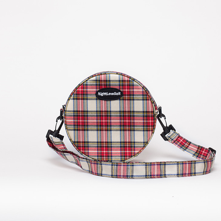 NLS cozy check circlecross [red]