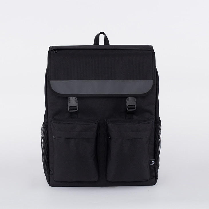 NLS X GRND 2 pocket cover backpack (black)