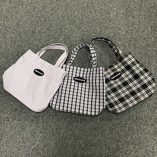 NLS cozy check mini cross [3color]