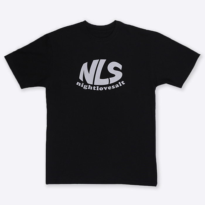 NLS logo T-shirt [black]