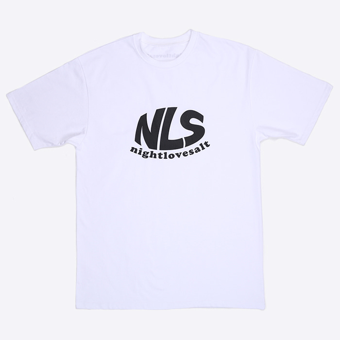 NLS logo T-shirt [white]